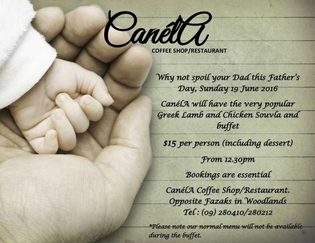 Fathers Day At Canela Restaurant