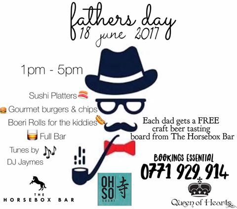 Fathers Day at Queen Of Heart Restaurant