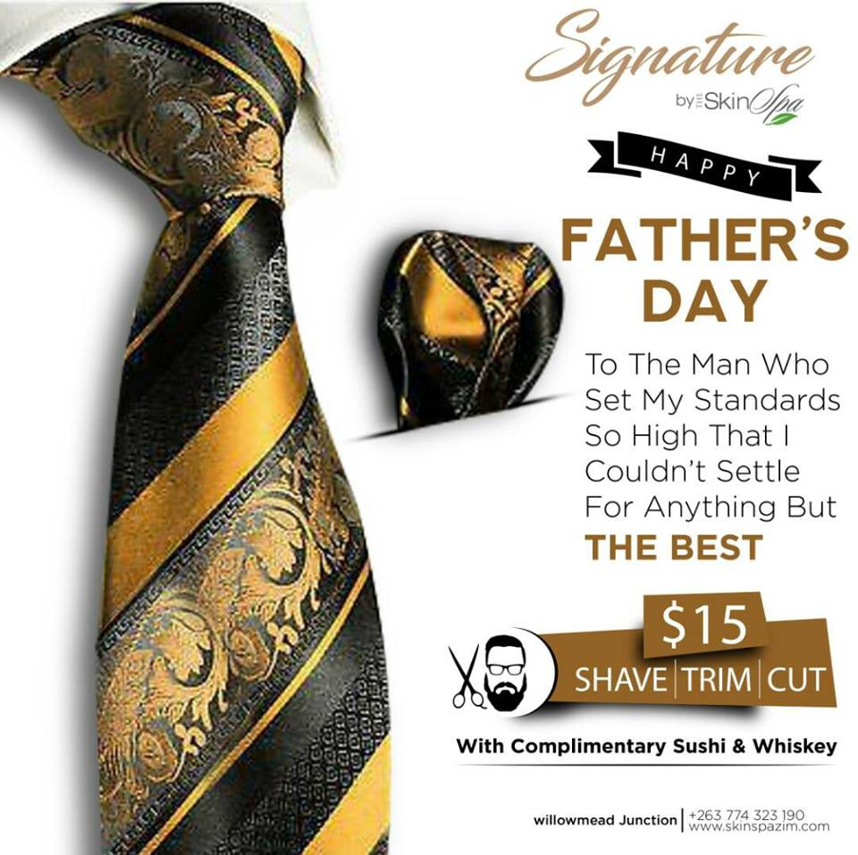 Father's Day at Signature by Skin Spa