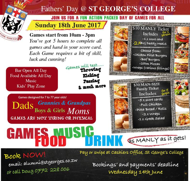 Father's Day at St Georges College