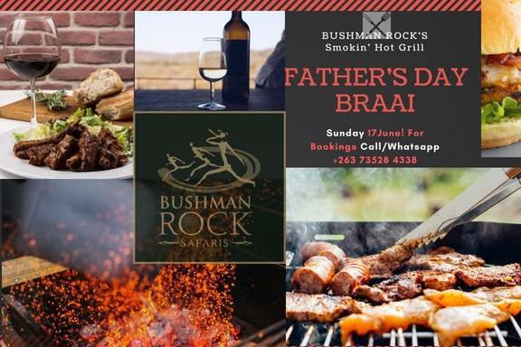 Father's Day Braai at Bushman Rock