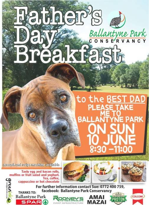 Father's Day Breakfast in Ballantyne Park