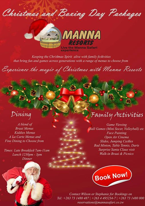 Festive Christmas & Boxing Day Package