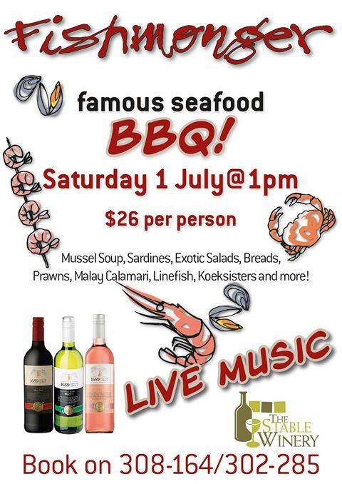 Fishmonger Famous Seafood BBQ.