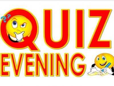 Fun Quiz Evening , Tuesday October 16 at Mustard Seed.