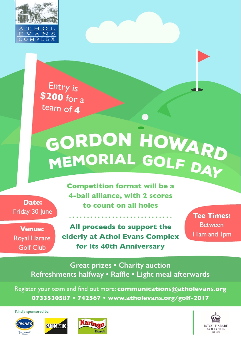 Gordon Howard Memorial Golf Day