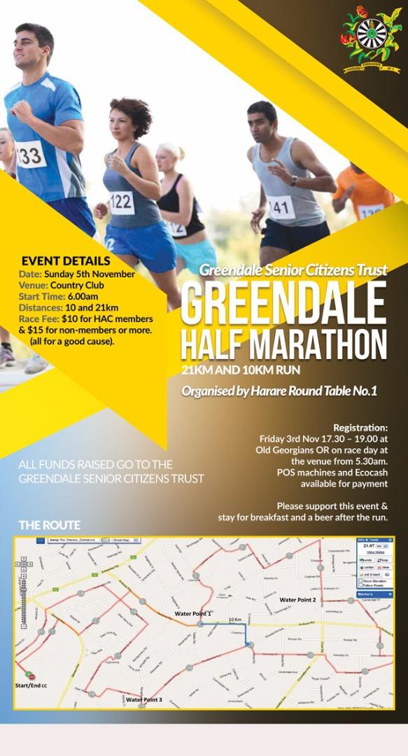 Greendale Half Marathon