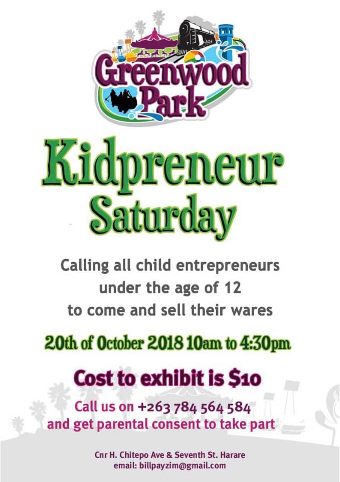 Greenwood Park Kidpreneur Saturday