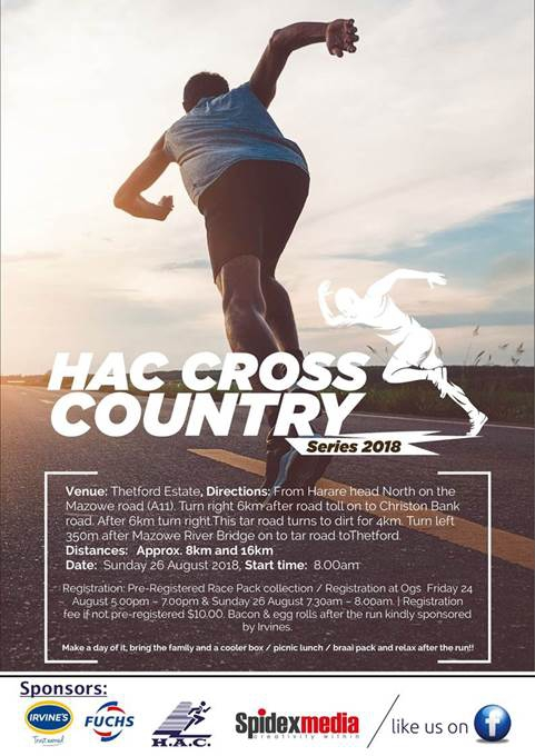 HAC CROSS COUNTRY SERIES 2018 at THETFORD ESTATE