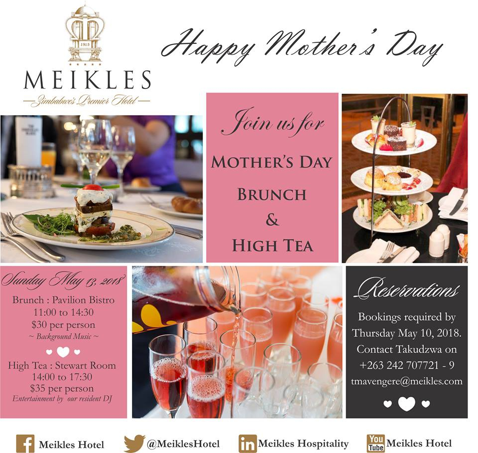 Mothers' Day Brunch And Mothers' Day High Tea