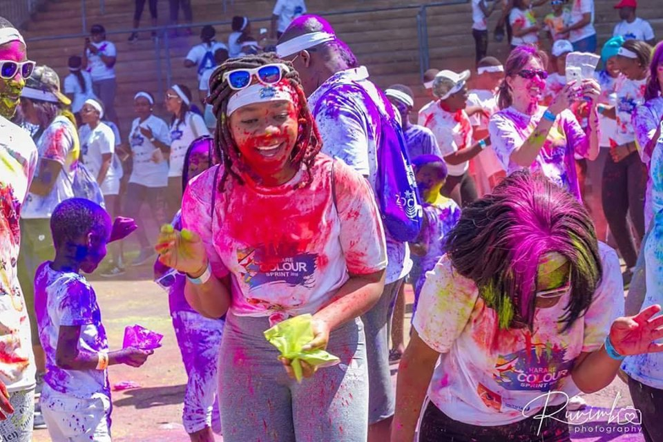 Color Run Grand Rapids 2020.Harare Colour Run My Guide Zimbabwe