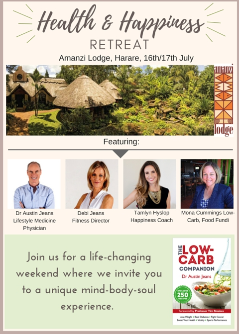 Health And Happiness Retreats At Amanzi Lodge
