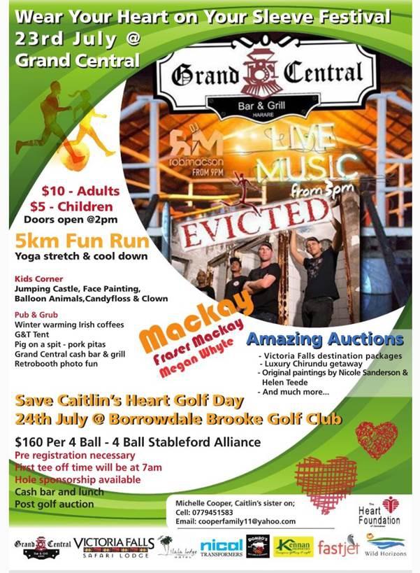 Help Save Caitlin's Special Heart