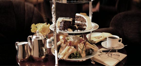 High Tea And Bagpipes At Meikles Hotel