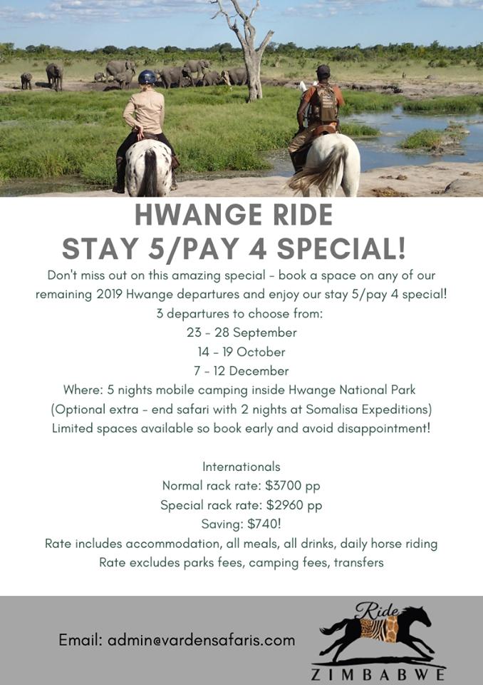 Hwange Rides Special