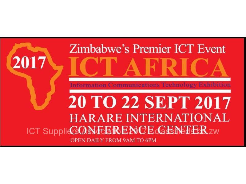 ICT Africa Exhibition 2017 @ HICC 20-22 September