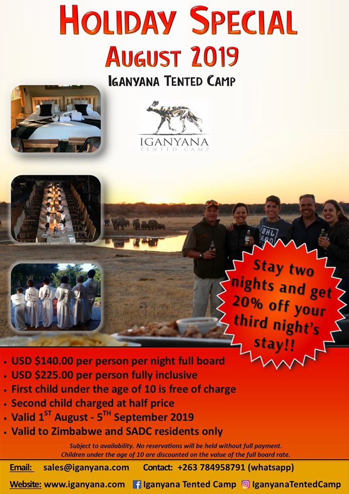 Iganyana Tented Camp Holiday Special