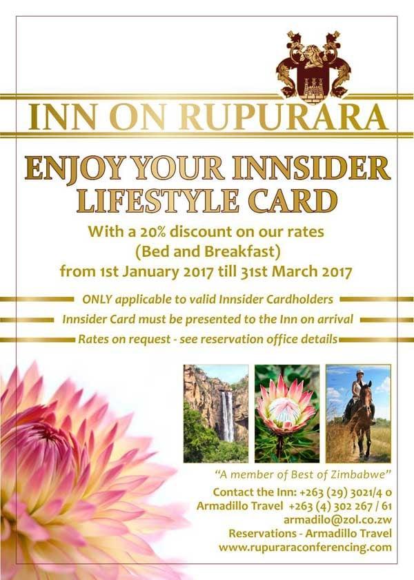 Inn on Rupurara Special