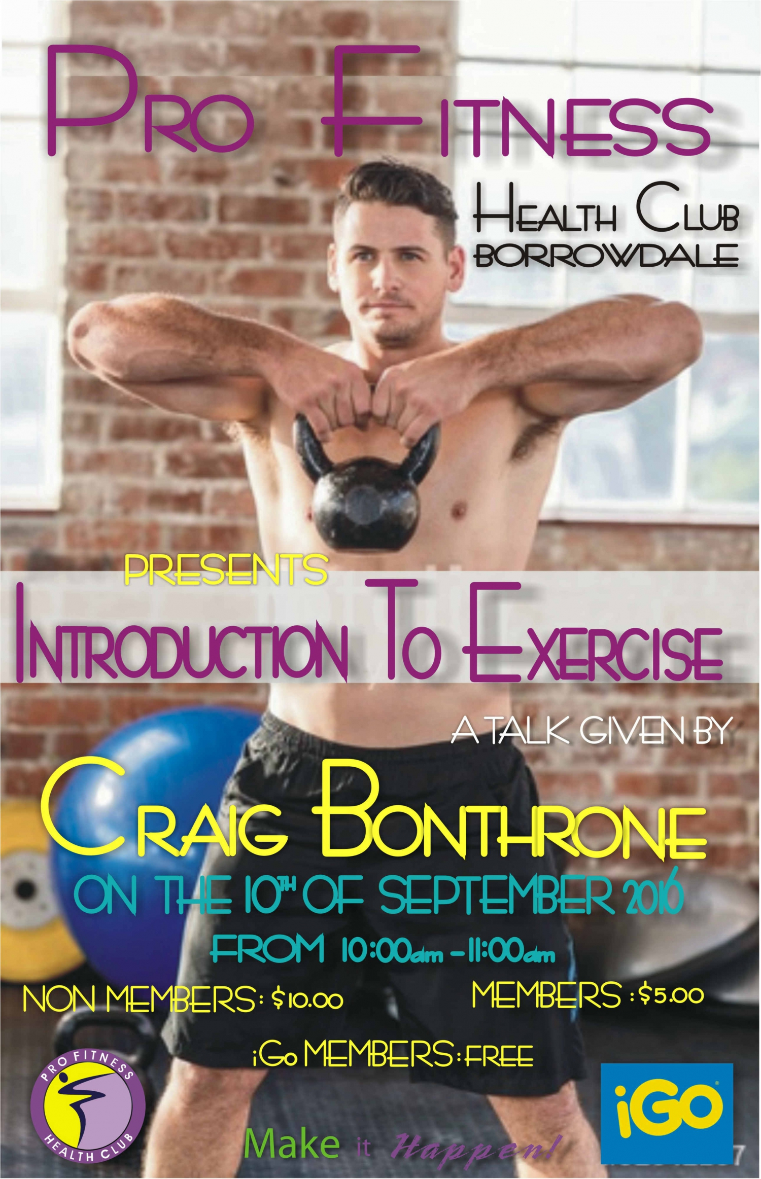Introduction To Exercise