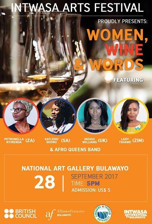 Intwasa Festival :Women, Wine & Words