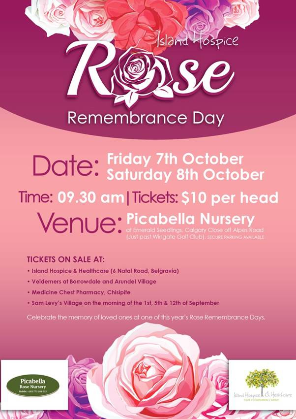Island Hospice - Rose Remembrance Days