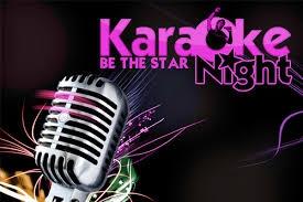 Italian Karaoke Night.