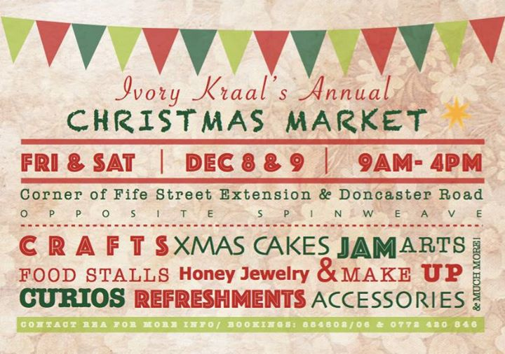 Ivory Kraal's Annual Christmas Market