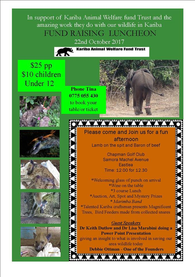 Kariba Animal Welfare Fund Trust - Kariba