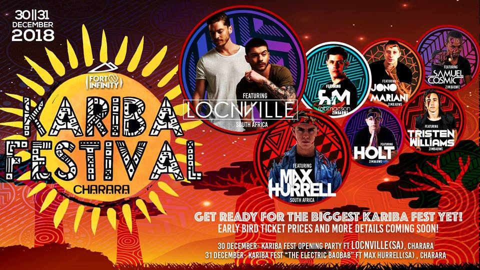 Kariba Fest 2018 ft Locnville, Max Hurrell & More!