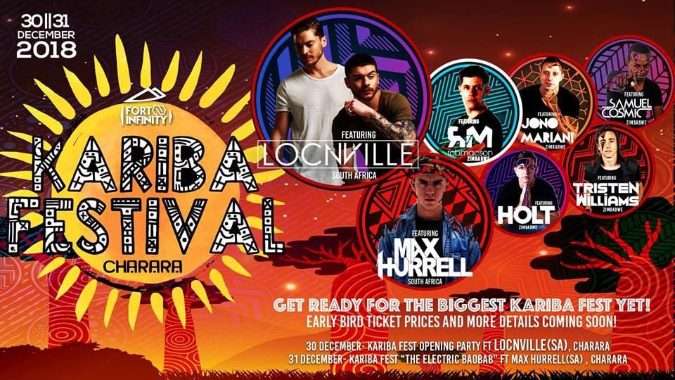 Kariba Fest 2018 ft Locnville, Max Hurrell & More!