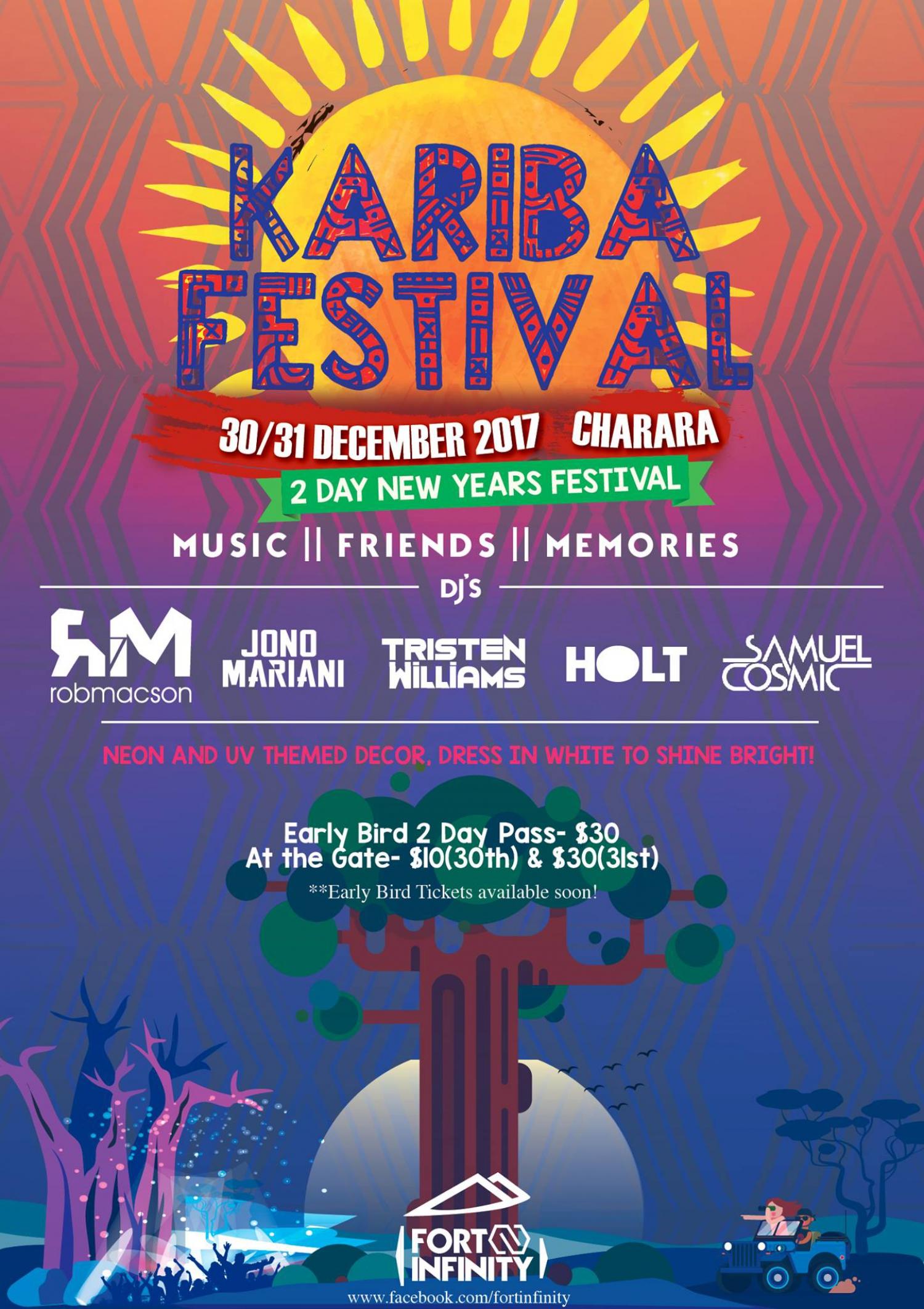 Kariba Festival- 2 Day New Years Festival