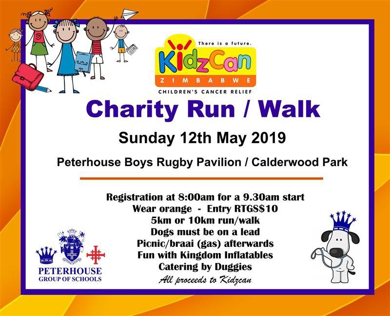 Kidzcan Charity Run / Walk
