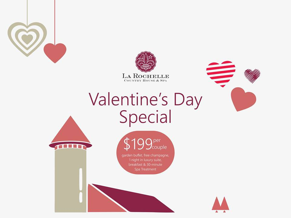 La Rochelle Country House and Spa Valentine Special