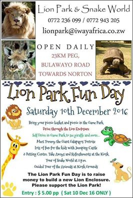 Lion Park Fun day