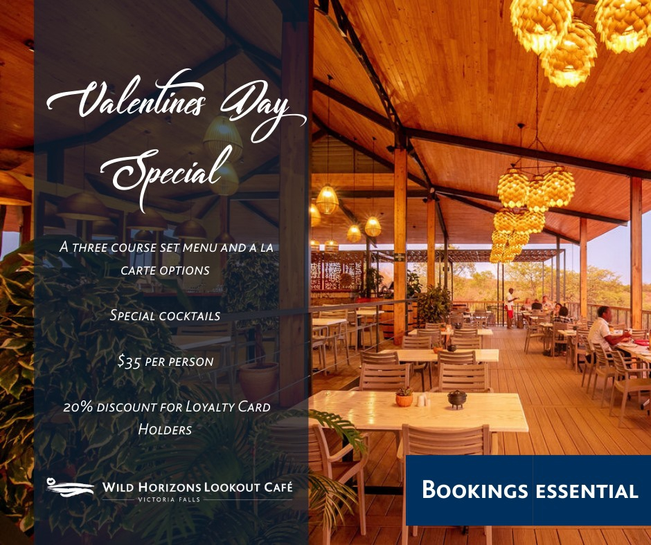 Lookout Cafe Valentine's Day Special
