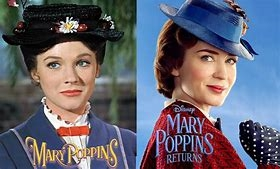 Mary Poppins and  Mary Poppins Returns