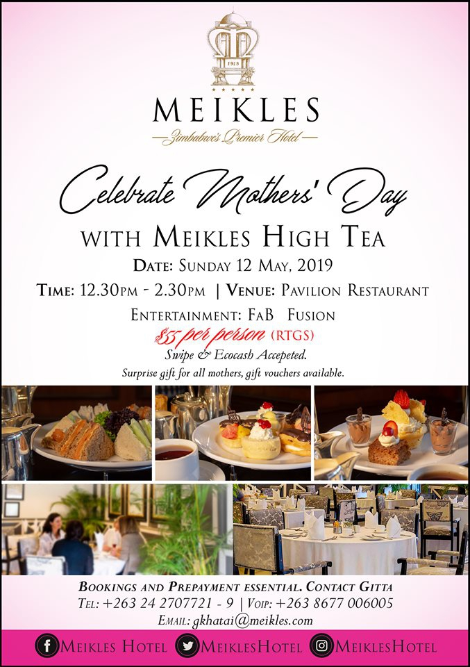 Meikles Hotel Mothers' Day