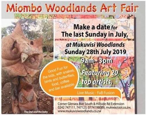Miombo Woodlands Art Fair 2019