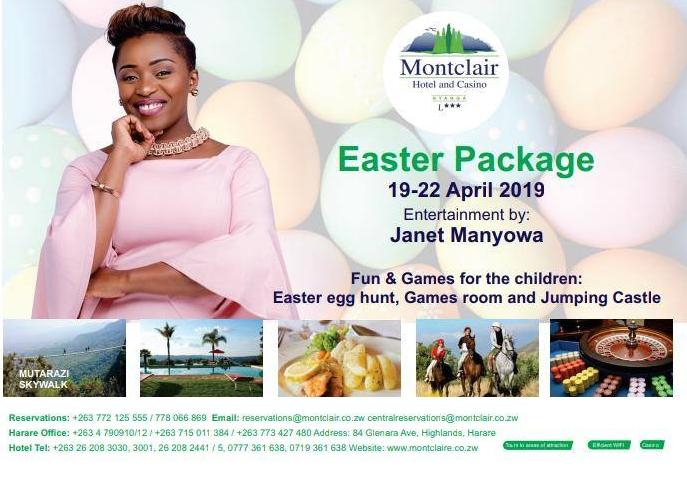 Montclair Easter Package