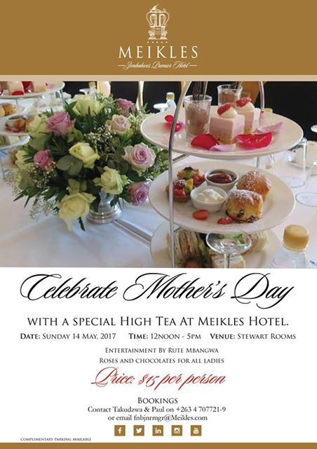 Mother's Day at Meikles Hotel