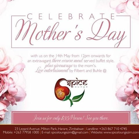 Mother's Day At Spice Lounge