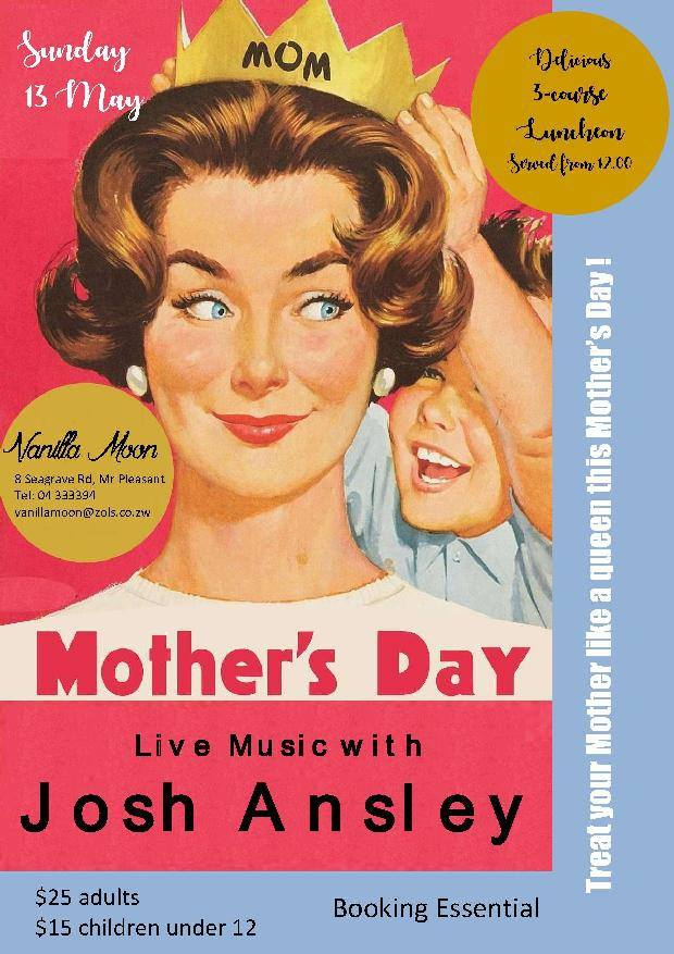Mother's Day Live Music with Josh Ansley