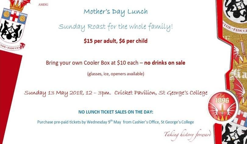 Mother's Day Lunch - Sunday Roast