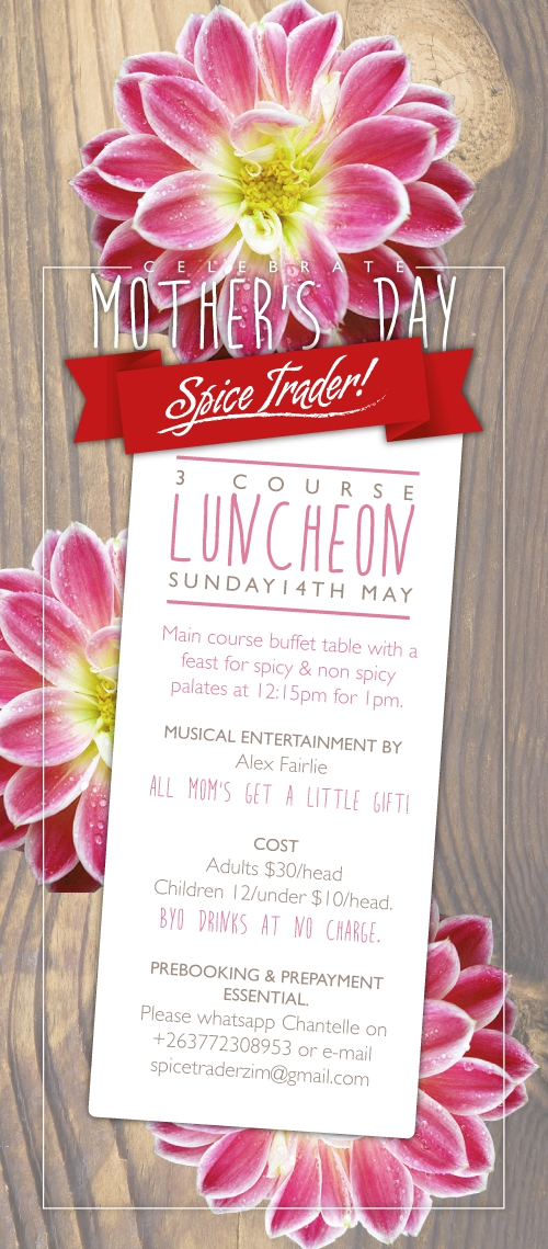 Mothers Day Luncheon At Spice Traders