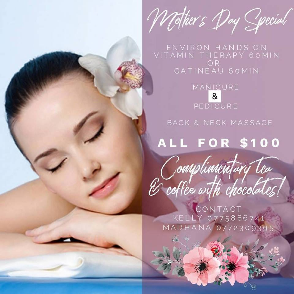 Mother's Day Special at Raw Earth Spa
