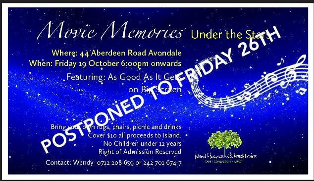 Island Hospice Movie Memories Under the Stars