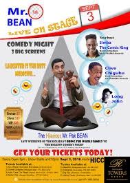 Mr Pak Bean Live.