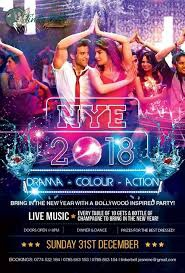 New Year's Eve – Bollywood Theme.