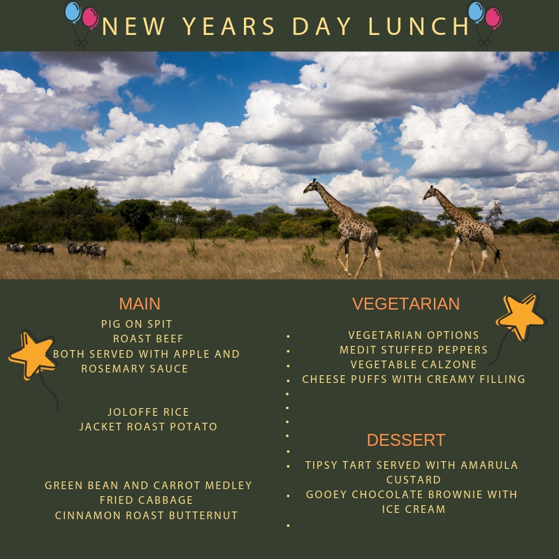 New Year's Lunch At Antelope Park