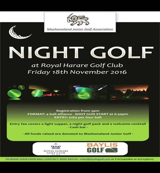 Night Golf This Friday